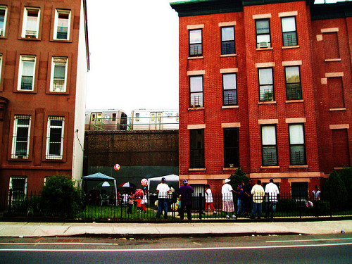 This is a photo of Brooklyn's Bed-Stuy neighborhood. Photo by clementine gallot/Flickr Creative Commons.